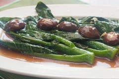 Stir fried chinese broccoli Stock Image