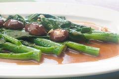 Stir fried chinese broccoli Royalty Free Stock Photo