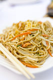 Stir fried chinese noodles Stock Photo