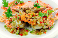 Stir-Fried crab Royalty Free Stock Image