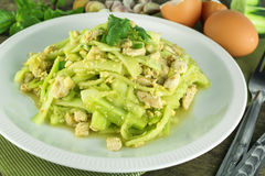 Stir Fried Cucumber With Chicken Royalty Free Stock Image