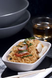 Stir-Fried Egg Noodles. Stir-Fried Chinese Egg Noodles stock photography