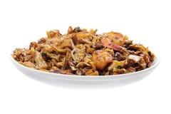 Stir Fried Flat Noodle Stock Image