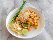 Stir-fried Glass Noodle - Phad thai Stock Image