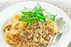 Stir fried  glass noodles Stock Image