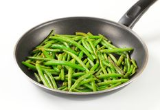 Stir-fried green beans Stock Image