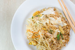 Stir fried instant noodle Royalty Free Stock Photo