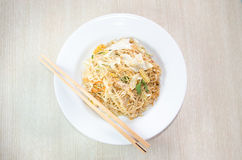 Stir fried instant noodle Royalty Free Stock Image