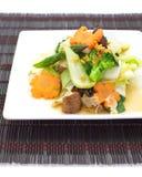 Stir-fried mezcló verduras foto de archivo libre de regalías