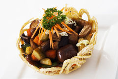 Stir-Fried Mixed Chinese Combination Fruits & Nuts Stock Photos
