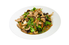 Stir-fried mixed vegetables. Stock Photography