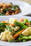 Stir-fried mixed vegetables Royalty Free Stock Photography