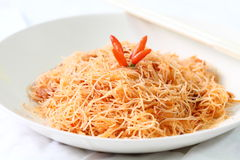 Stir Fried Noodle Royalty Free Stock Photos