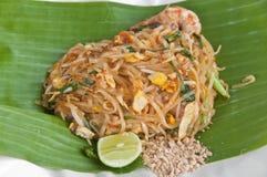 Stir-fried noodle Pad Thai. Stock Images