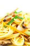 Stir fried noodles Royalty Free Stock Photos