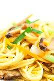 Stir Fried Noodles Royalty Free Stock Photos