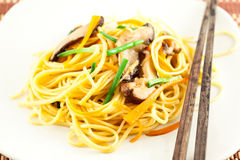 Stir fried noodles Royalty Free Stock Image
