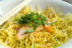 Stir-fried noodles , Chow mein , Chinese cuisine Stock Photography