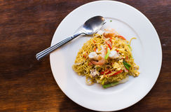 Stir-fried noodles , Chow mein , Chinese cuisine Royalty Free Stock Images