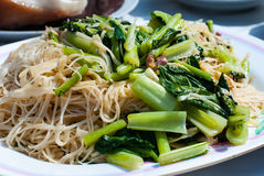 Stir fried noodles Stock Image