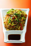 Stir fried noodles Stock Photography