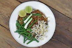 Stir fried noodles or padmee korat Stock Images