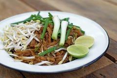 Stir fried noodles or padmee korat Royalty Free Stock Image