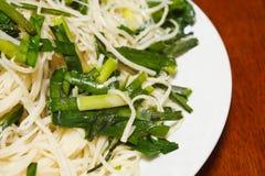Stir fried noodles thai food Stock Image