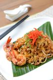 Stir fried penang char kway teow Royalty Free Stock Photography