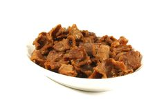 Stir Fried Pork Royalty Free Stock Images