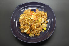 Stir fried rice with chilli paste Stock Photography