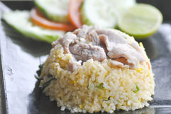 Stir-fried rice or fried rice Thai food Stock Photography
