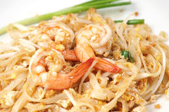 Free Stir-fried Rice Noodles (Pad Thai) Stock Image - 25173931