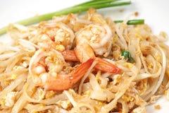 Stir-fried Rice Noodles (Pad Thai) Stock Image