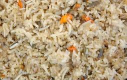 Stir Fried Rice up Close Royalty Free Stock Image