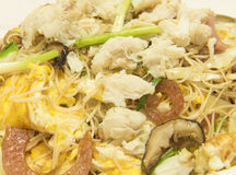 Stir-fried rice vermicelli / food Royalty Free Stock Images
