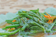 Stir-Fried Sayate Wish Salted Soya Bean Stock Images