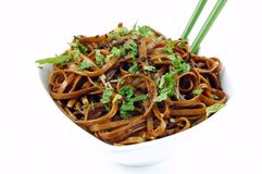 Stir Fried Udon Stock Photos
