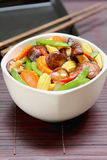 Stir fried vegetable with mushroom Royalty Free Stock Photography
