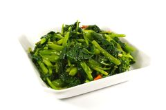 Stir Fried Vegetables Stock Photos