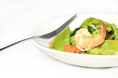 Stir-fried vegetables Stock Photography