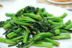 Stir fried vegetables Royalty Free Stock Photography