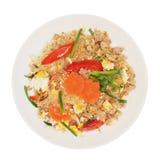 Stir fried vermicelli with beaten egg Royalty Free Stock Photos