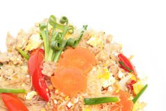 Stir fried vermicelli with beaten egg Royalty Free Stock Image