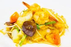 Stir fried vermicelli Stock Photo