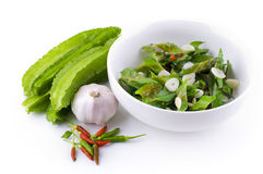 Stir Fried Winged beans Royalty Free Stock Images
