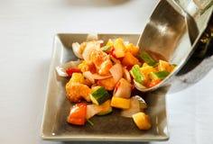 Stir fries mixed vegetable Stock Photos