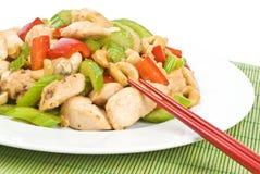 stir fry цыпленка анакардии Стоковые Фотографии RF