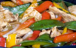 Stir Fry 2 Stock Photography