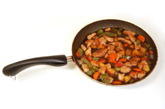 Stir Fry Stock Photo